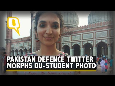 Pakistan Defence Twitter Handle Morphed Photo of an Indian Girl | The Quint