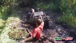 Best of 2015 ATV Fails and Epic Moments (Holiday Edition, NOS-Atvs)