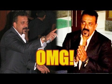 What Made Sanjay Dutt Abuse And Then Fold His Hands To Media On His Birthday Last Night
