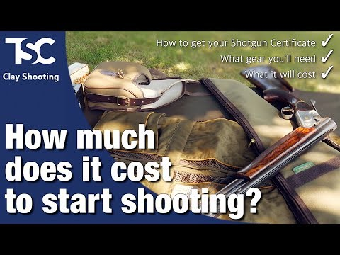 What Does It Cost To Take Up Shooting?