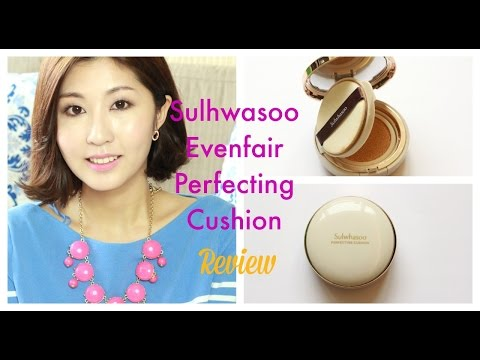 Sulwhasoo Evenfair Perfecting Cushion Review   E For Beauty