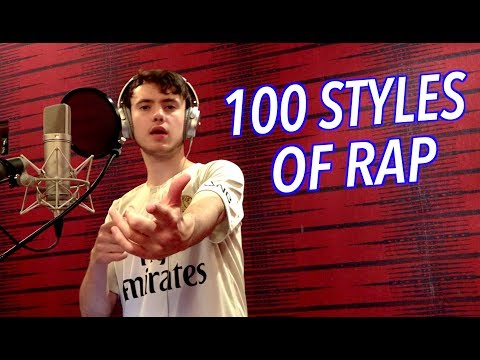 100 Styles of Rapping