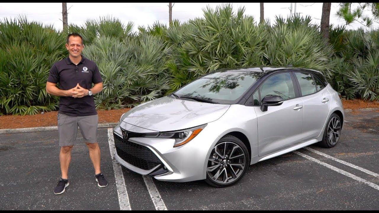 2020 Toyota Corolla Hatchback Overview