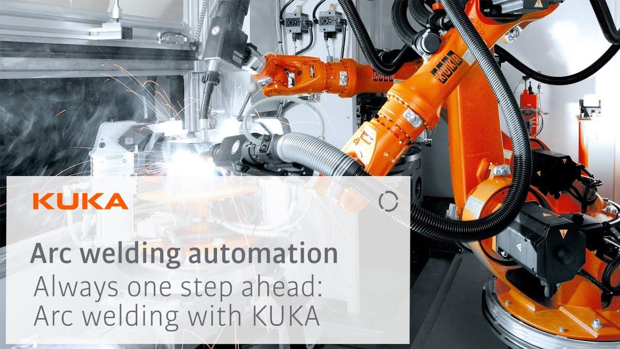 KUKA Robotics Arc Welding TechCenter Bavaria, Germany - Walkthrough