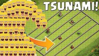 Der große Clash of Clans Tsunami!
