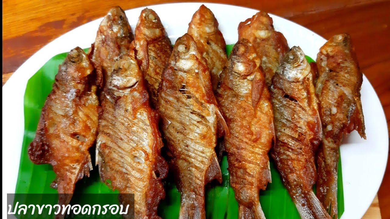 ปลาชุบแป้งทอด# ปลาขาวทอดกรอบ
