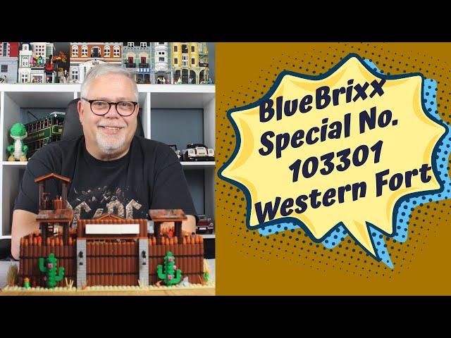 BlueBrixx Specials No.103301 Western Fort - Design TOP, aber Qualität lässt wieder zu wünschen übrig