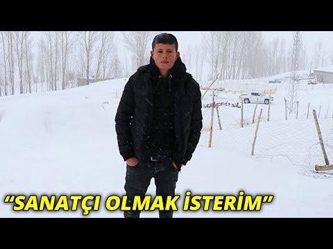 İnşaatta Söylediği şarkısı Tıklama Rekoru Kıran Murat: Sanatçı Olmak Isterim