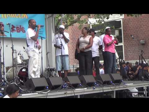 SING, SONG, ALL DAY AT HARLEM'S DAY--REPUBLIC-REPORTERS