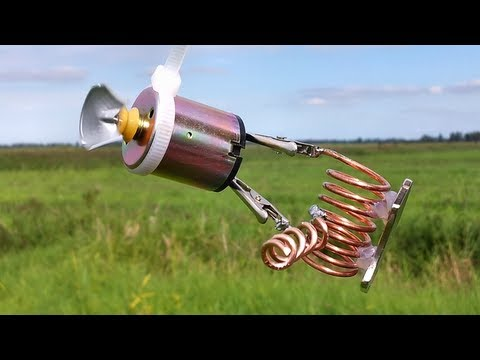free energy generator - outside - filmed in one take