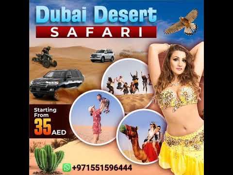Thrilling Desert Safari Dubai With BBQ Buffet Dinner | Only 35AED