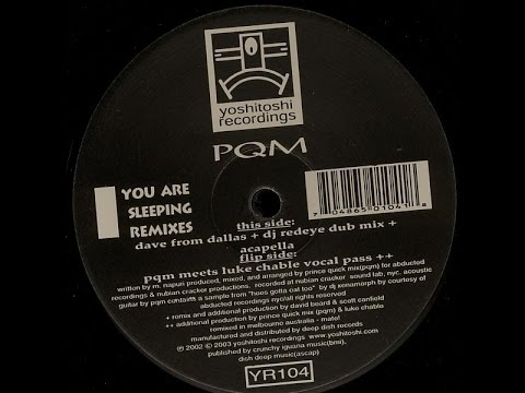 PQM ‎– You Are Sleeping (PQM Meets Luke Chable Vocal Pass)