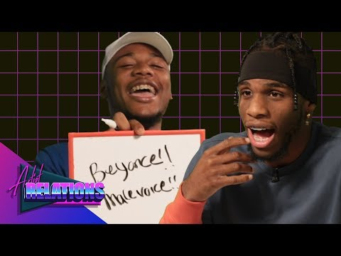 Armon & Trey Find Out How Well They Know Each Other  Artist Relations