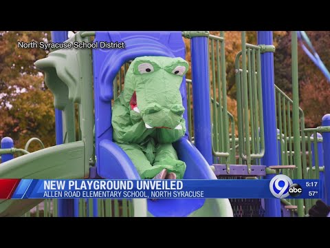 New playground unveiled at Allen Road Elementary School