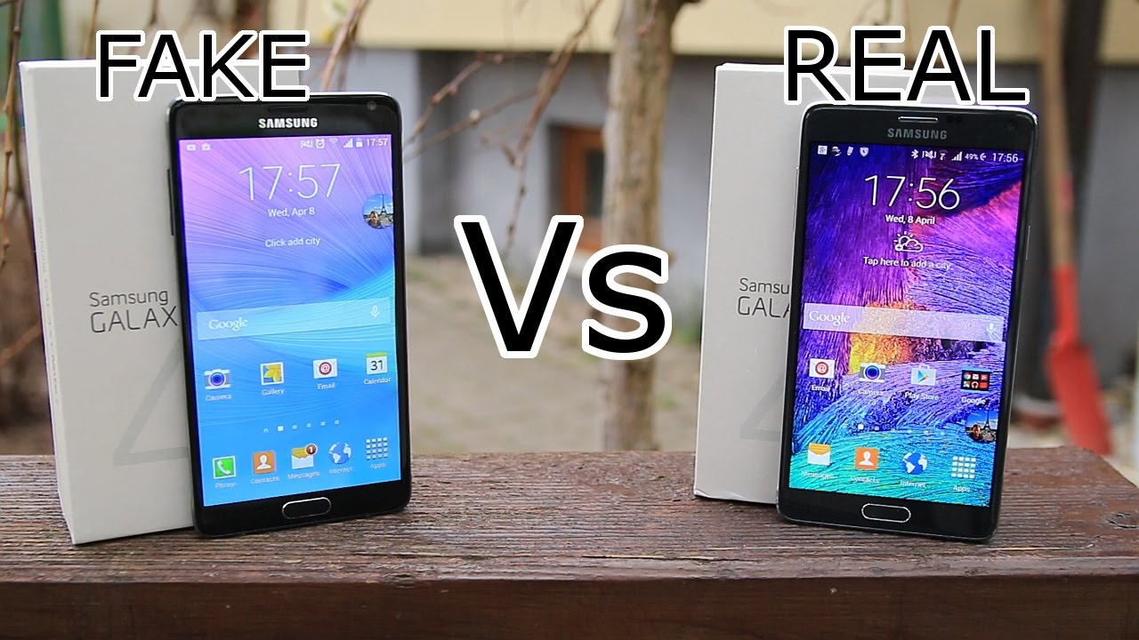 fake vs real samsung galaxy note 4 new version best. Black Bedroom Furniture Sets. Home Design Ideas