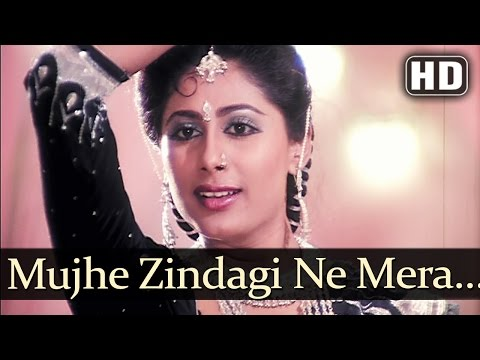 Mujhe Zindagi Ne Mara - Smita Patil - Bindu - Angaaray - Asha Bhosle - Anu Malik - Old Hindi Songs