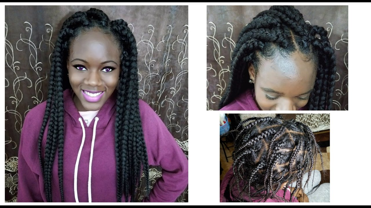 Crochet Braids No Knot Method : DIY-Individual Crochet Box Braid NO Cornrow - New Method
