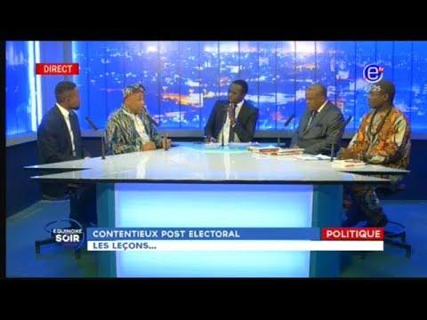 EQUINOXE SOIR (CONTENTIEUX POST-ELECTORAL: Les lecons...) du 19/10/2018 - EQUINOXE TV