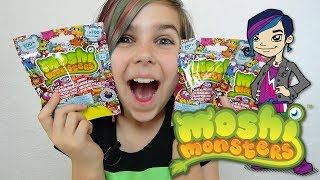 Moshi Monsters - Blind Bag Opening!