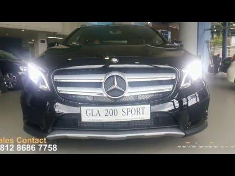 Mercedes-Benz GLA 200 sport Jakarta Indonesia Sales specification feture Sales