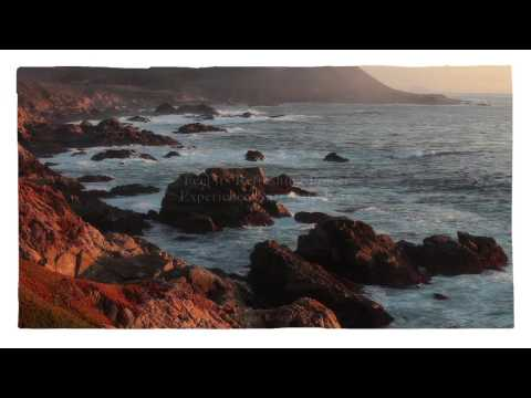 Big Sur Coastline California Destination | California Big Sur Coastline Travel Attraction Video