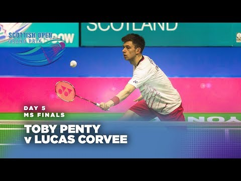Scotish Open 2017 | Men's Singles Final: Lucas Corvee v Toby Penty
