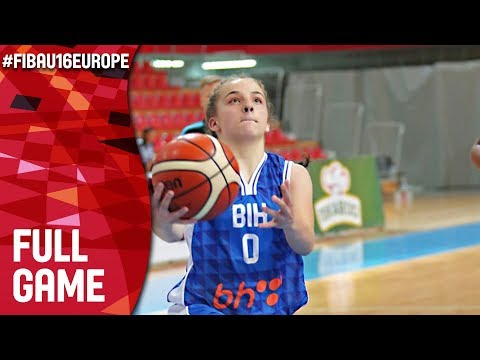 Switzerland v Bosnia & Herzegovina - Full Game - FIBA U16 Women's European Championship 2017 - DIV B