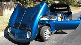 Lamborghini Miura P400 SV Replica Build Project