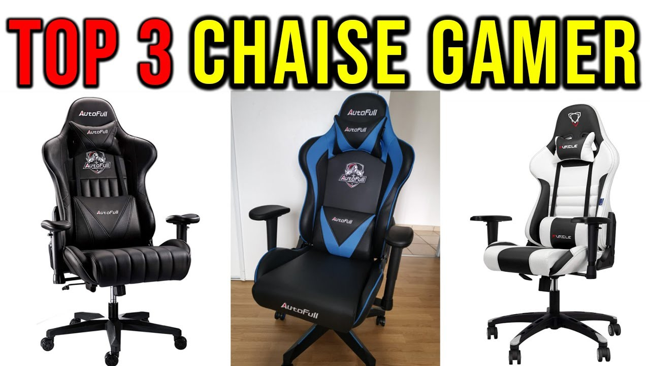 🥇 TOP5 ► Meilleure CHAISE GAMING 5 ✅