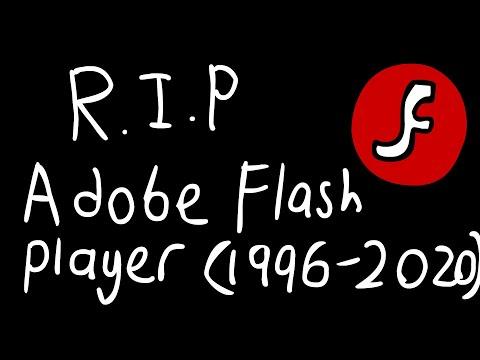 Goodbye Adobe Flash Player (1996-2020)