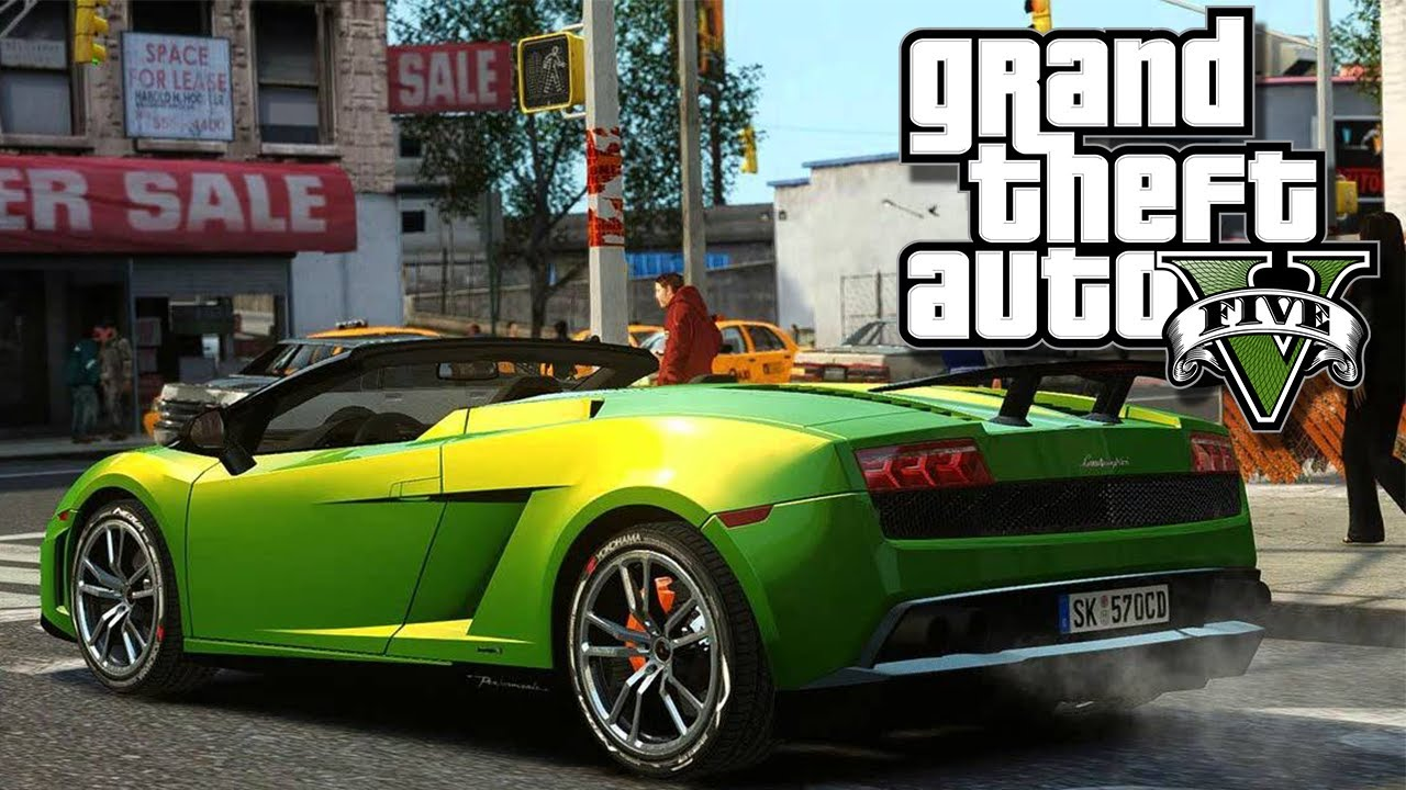 Funny Car Crashes in GTA V! (Crashing Cars, Funny Moments