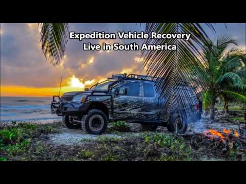Overland Expedition Vehicle Recovery Live in South America (How To Get Unstuck)