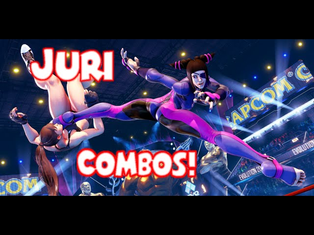 Combos do NOVO personagem do street fighter v