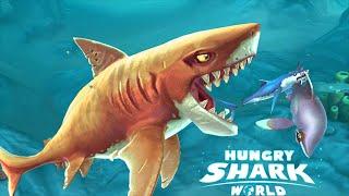Hungry Shark World: Blue Shark Is Under Arrest