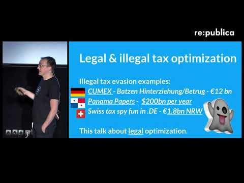 re:connecting Europe 2017 – Walter Palmetshofer: Taxation, a European Issue on YouTube