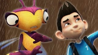 Insectibles | Rainy Day | Adventure Cartoon for Children by Oddbods & Friends