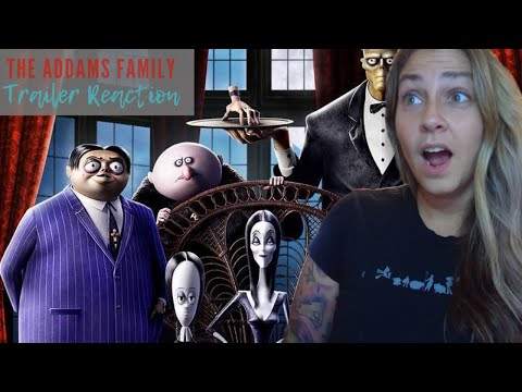 THE ADDAMS FAMILY  Official Trailer Reaction and Review