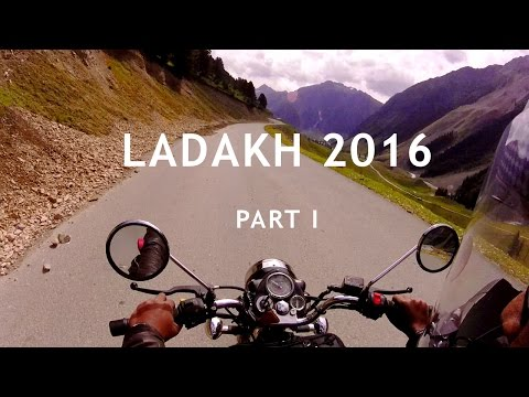 Riding Through the Unrest in Srinagar | Ladakh 2016 - Part 1 | Thumping Trips