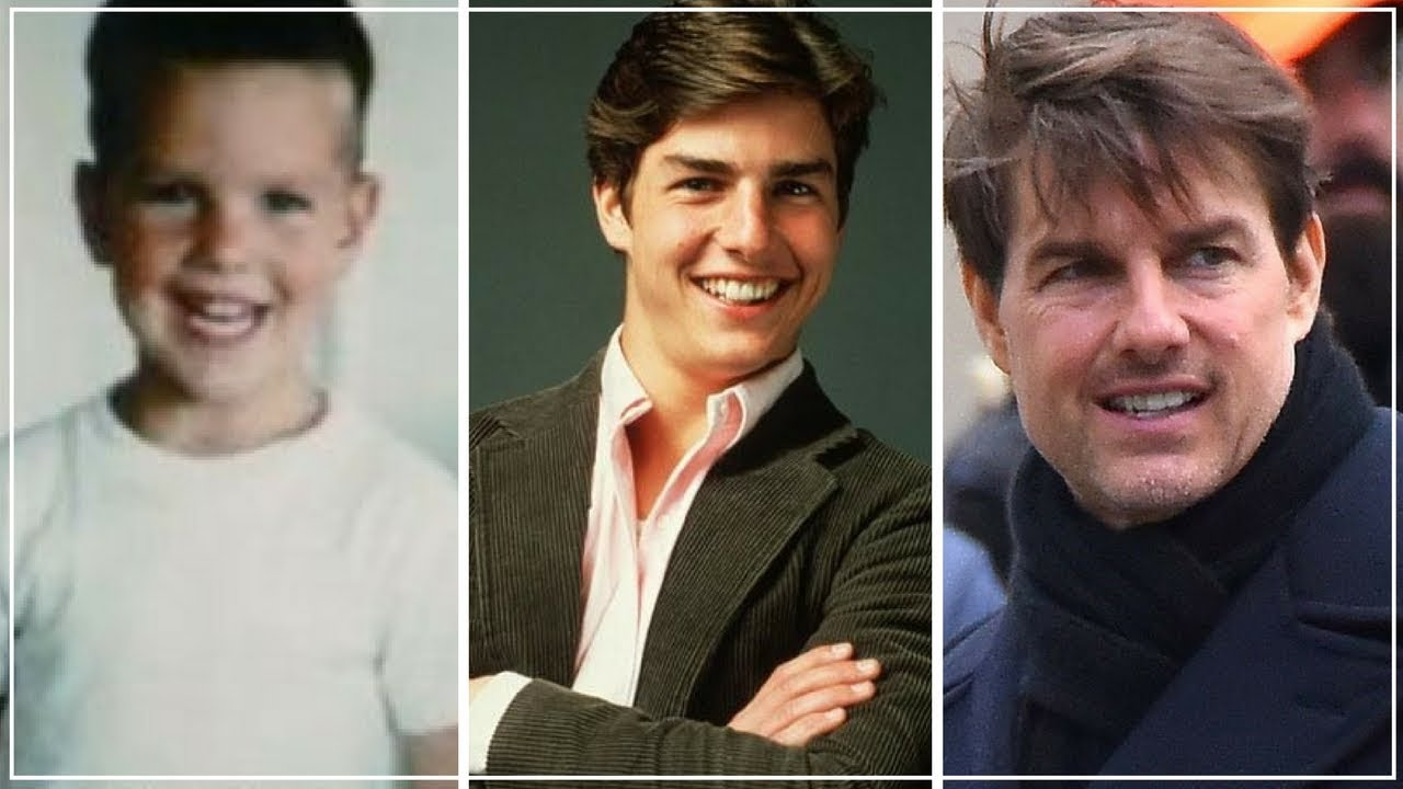 Tom Cruise 1962 - 2017 | Tom Cruise Changing Looks From 1 ...