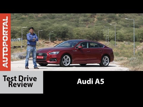 Audi A5 Test Drive Review - Autoportal