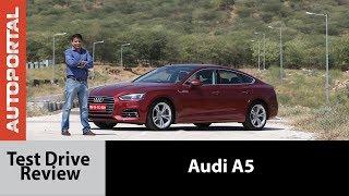 Audi A5 Test Drive Review - Autoportal