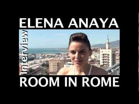 Elena Anaya Room in Rome interview, HD