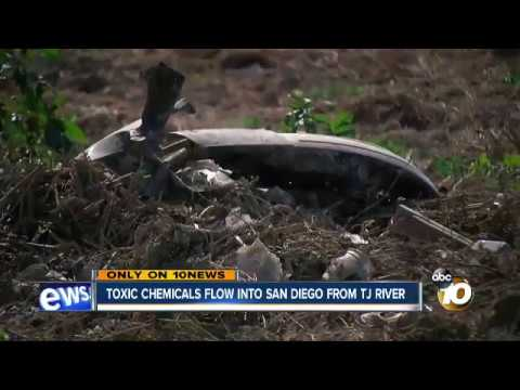 Toxic Soup of Chemicals Flows from Tijuana River into San Diego