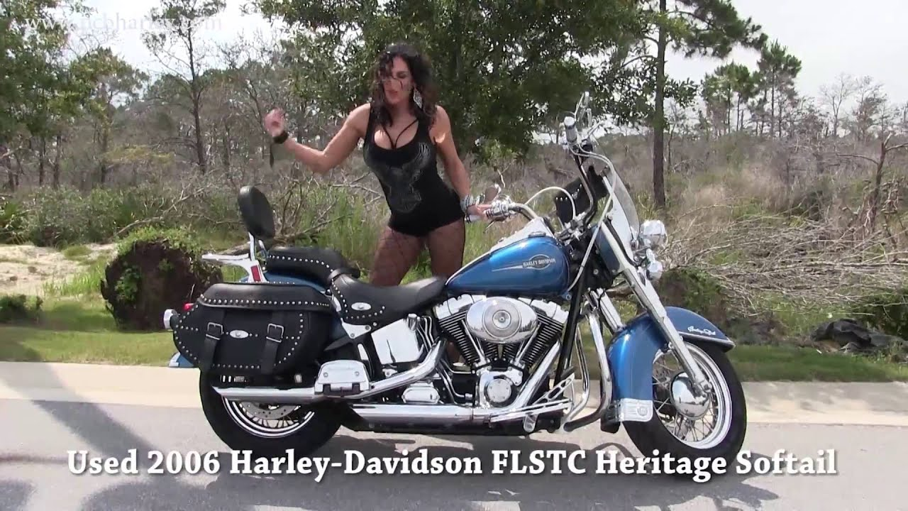 2006 Harley Davidson Heritage Softail for sale in Macon - YouTube