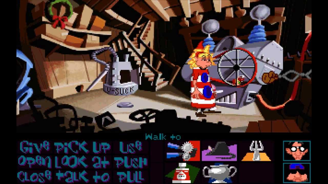 Day Of The Tentacle 1993 Full Playthrough Youtube