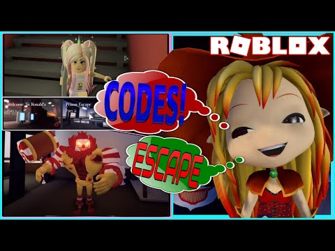 Roblox Ronald Codes 2020 June Chloe Tuber Roblox Ronald Codes 10 Working Codes And Escaping