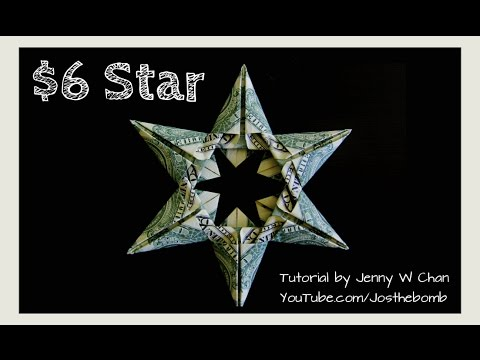 Christmas Crafts Diy How To Make Star Money Origami Dollar