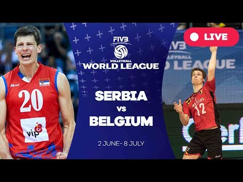 Serbia v Belgium - Group 1: 2017 FIVB Volleyball World League