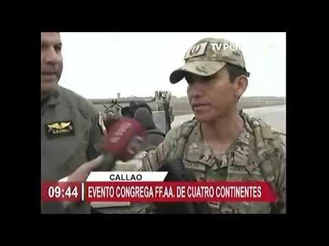 TV PERU  FAP  DESPLIEGA PERSONAL A CHIMBOTE