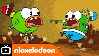 Breadwinners | Freaky Rye-Day | Nickelodeon UK